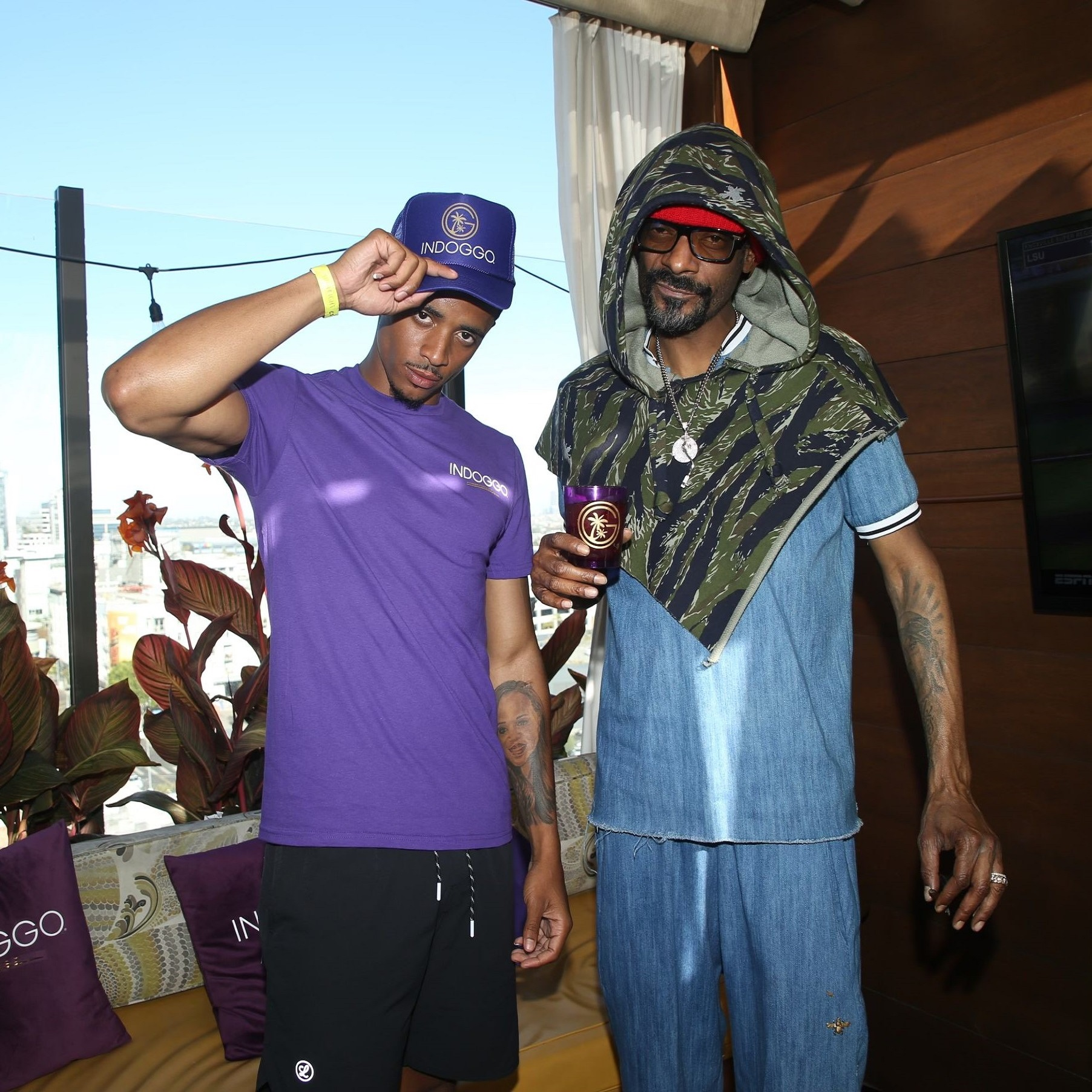 Cordell and Snoop via Fingerprint Communications for use by 360 Magazine
