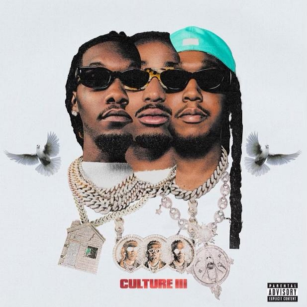 Culture III cover art via Quality Control Music and Motown for use by 360 Magazine
