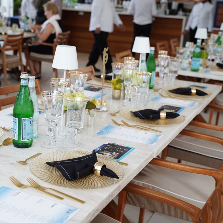 SOBEWFF intimate dinner at the Continuum via Eliot Stares at ESPR INC for use by 360 Magazine