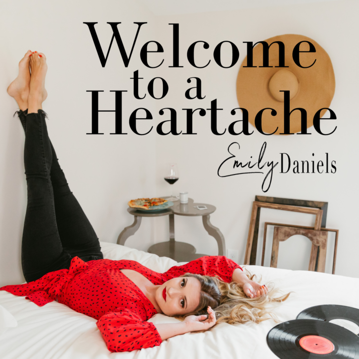 Emily Daniels - WELCOME TO A HEARTACHE cover photo from Music City Media for use by 360 Magazine