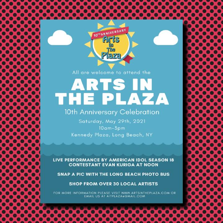 Arts in the Plaza illustration by Heather Skovlund for 360 Magazine