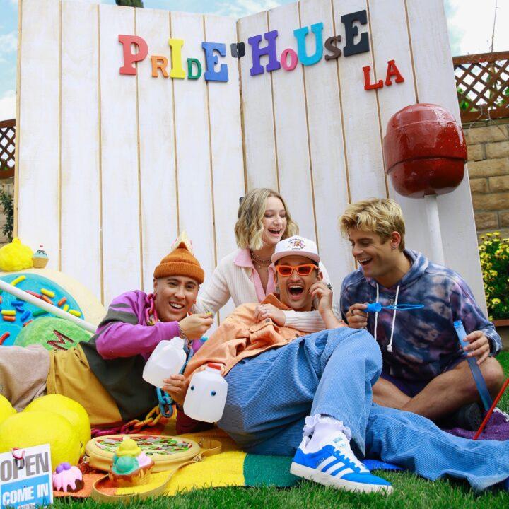 PrideHouseLA Image via Jessica Katz and Melanie Du Pont at Katz Public Relations for use by 360 Magazine
