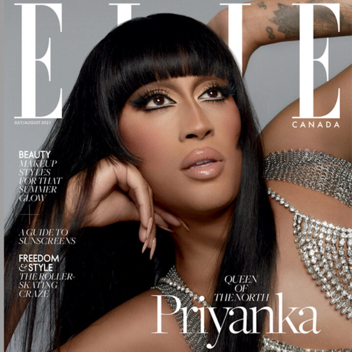 Elle cover via Marie-Andrée Picotte of Ko Media for use by 360 Magazine