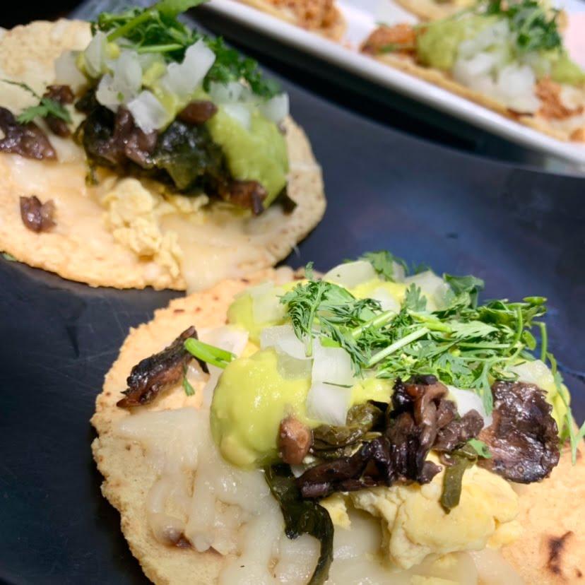 Brunch Tacos at Lanea