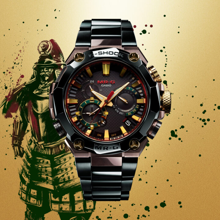 G-SHOCK RELEASES 25TH ANNIVERSARY MR-G TIMEPIECE from Jordan Hampton for use by 360 Magazine