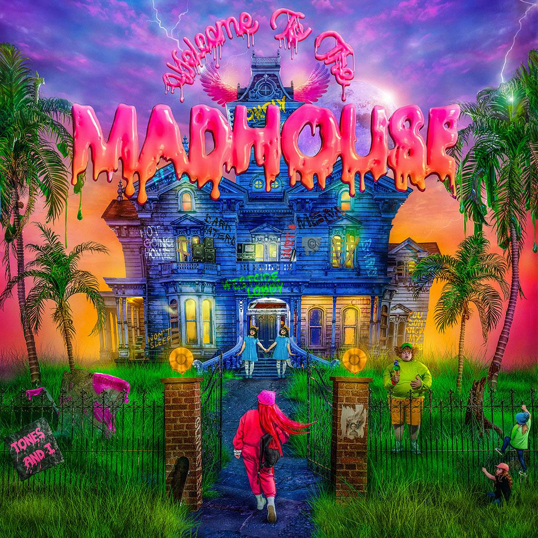 Welcome to the Madhouse album artwork via Elektra for use by 360 Magazine