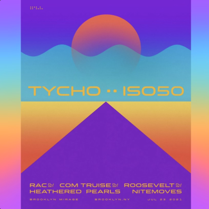 Tycho ISO50 Event Image via Ken Weinstein for use by 360 Magazine