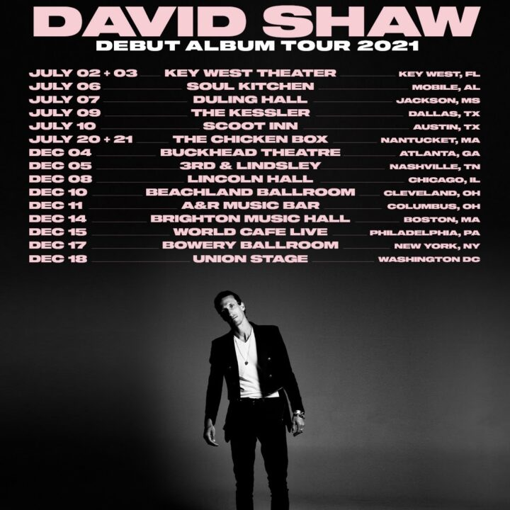 David Shaw Tour Image given by Bari Lieberman and Press Here Publicity for use by 360 MAGAZINE.