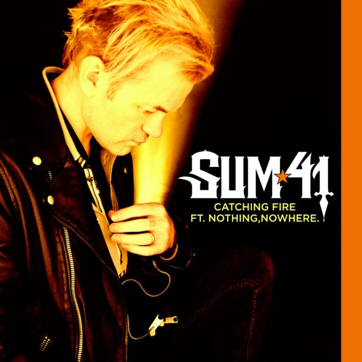 Sum 41 Catching Fire Image given by Dayna Ghiraldi-Travers and Big Picture Media for use by 360 MAGAZINE.