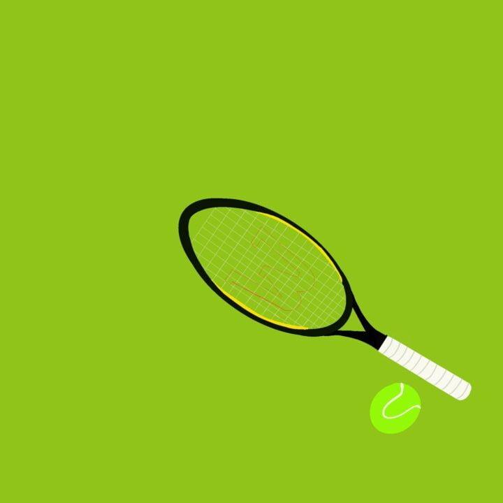 Tennis illustration by Hannah Beck