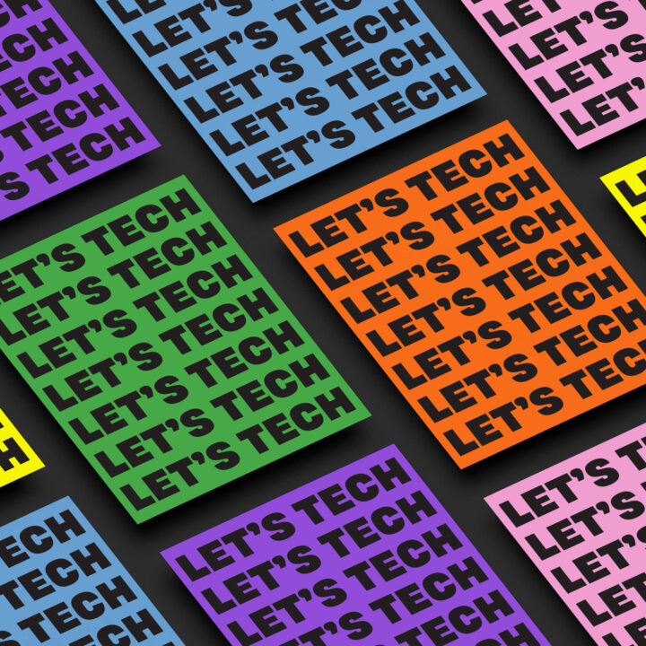 Marta Klopf design for LetsTech from Grace Topalian for use by 360 Magazine