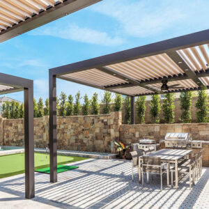 Pergola X photo by Natalie Norcross for use by 360 Magazine