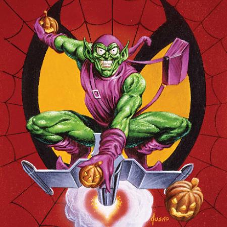 Green Goblin via Joe Jusko for Marvel Comics for use by 360 Magazine