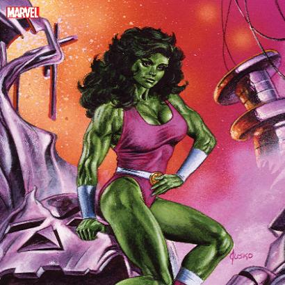 She-Hulk via Joe Husko for Marvel Comics for use by 360 Magazine