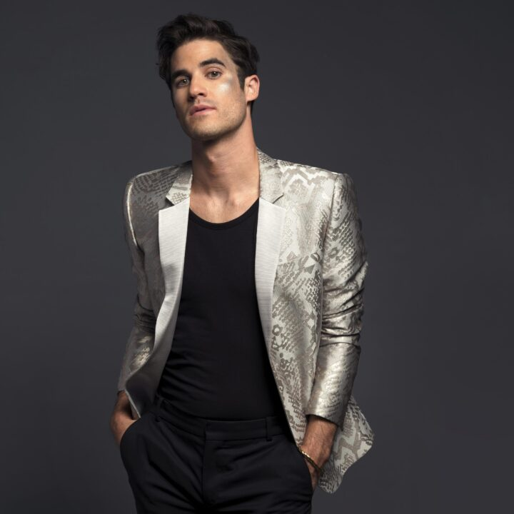 Darren Criss image provided by Christina Santa Maria and BMG for use by 360 MAGAZINE