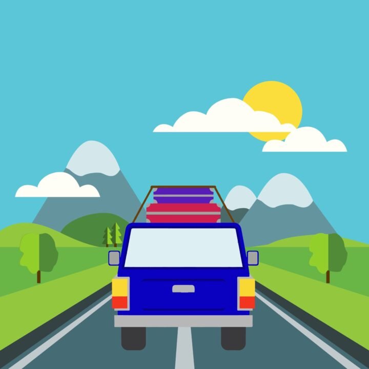 """""""Best Driving Song"""" Survey Result image by Rita Azar for use by 360 Magazine"""