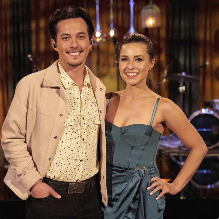 Laine Hardy and Katie Thurston photo by Craig Sjodin for use by 360 Magazine