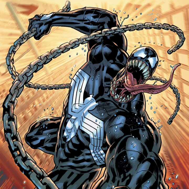 Venom #1 image provided by Anthony Blackwood and Marvel Entertainment for use by 360 MAGAZINE