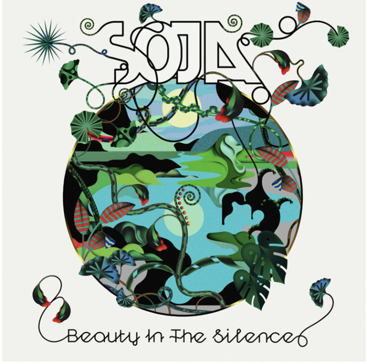 Beauty in the Silence album cover via Katie Leggett for use by 360 Magazine