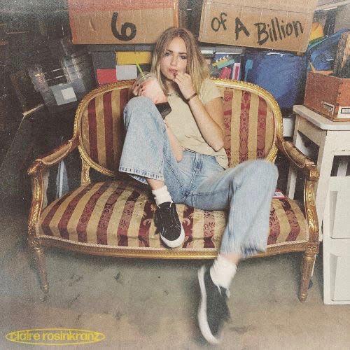 "CLAIRE ROSINKRANZ ""6 In a Billion"" EP imagefrom Republic Records Media via Danielle Gonzalez at Universal Music Group"