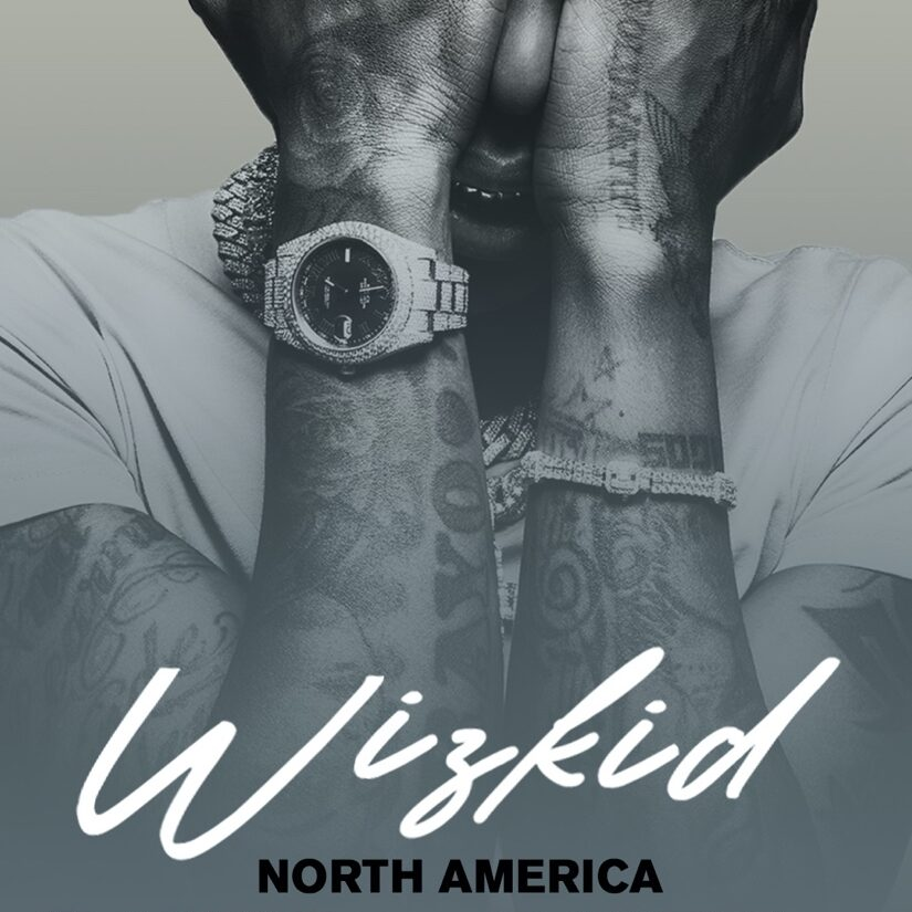 Wizkid Tour Poster from Theola Borden, RCA Records for use by 360 Magazine