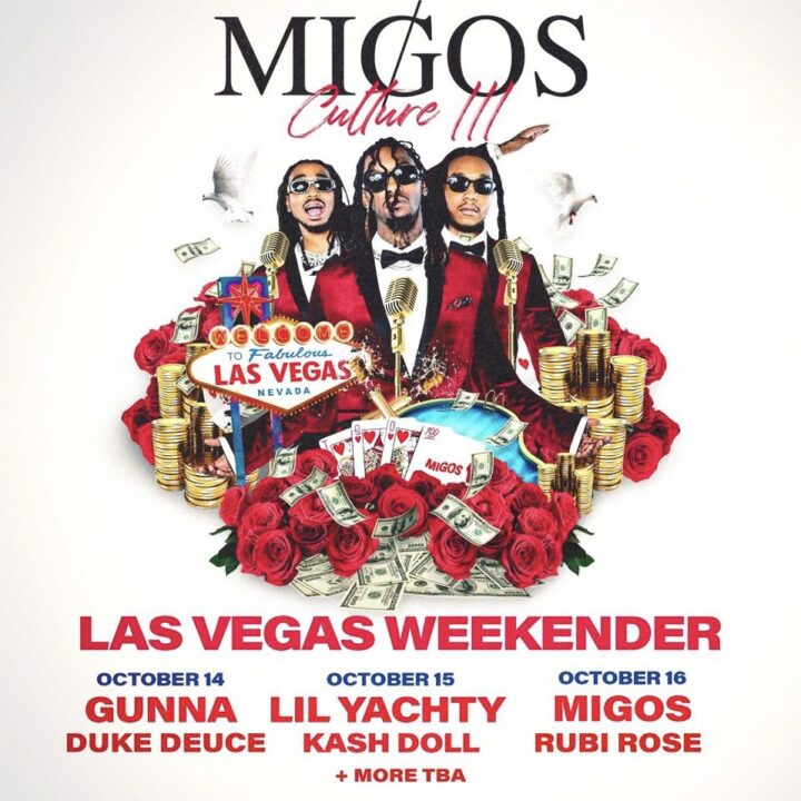 Migos LV image provided by Jordan Calvano and Infamous for use by 360 MAGAZINE