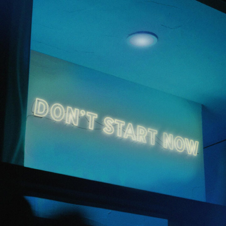Don't Start Now cover image via Jim Merlis for use by 360 Magazine