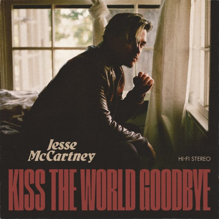 Jesse McCartney single cover via Charlie Roina for use by 360 Magazine