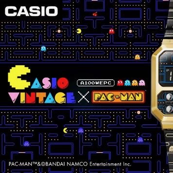 Casio America INC x Pac Mac A100WEPC watch image via Kate Helander at Coyne PR for use by 360 Magazine