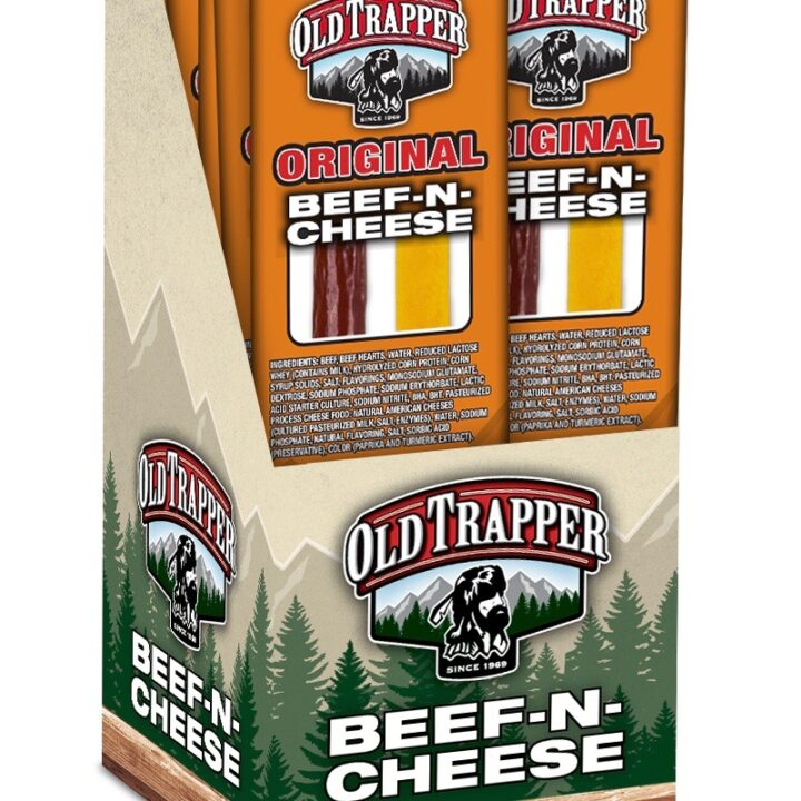 Old Trapper original beef & cheese strick iamge vai Meredith Daubner for use by 360 Magazine
