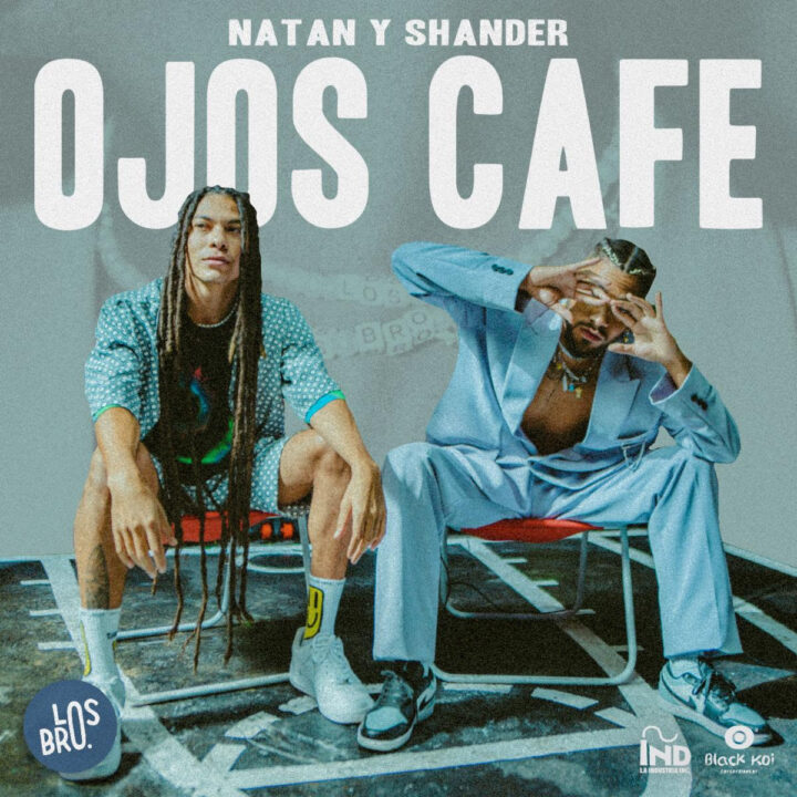 """Natan & Shander """"Ojos Cafe"""" cover from Nini Veras, NV Marketing and Public Relations, LLC for use by 360 Magazine"""