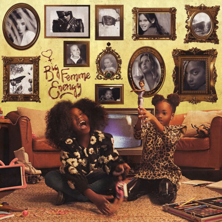 album cover by Femme It Forward for use by 360 Magazine