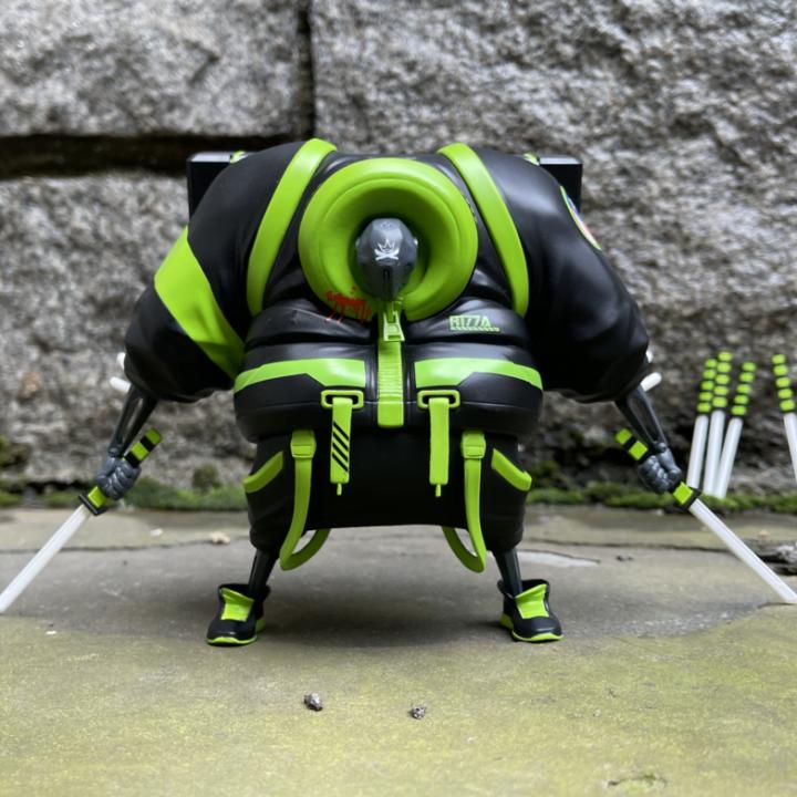 Photo via Benny Kline of Tenacious Toys for use by 360 Magazine