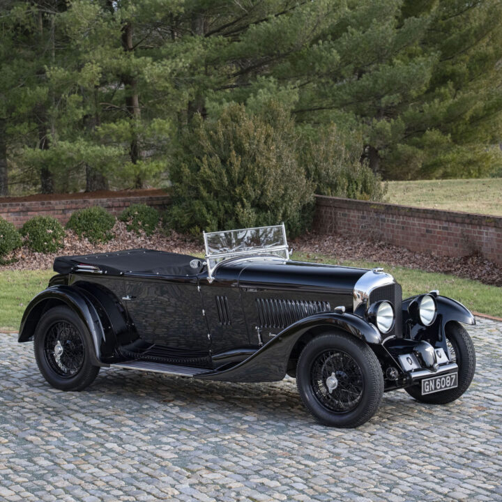 1931 Bentley 4.5 Litre Supercharged Sports Tourer car from Linden Bray, Influence Associates for use by 360 Magazine