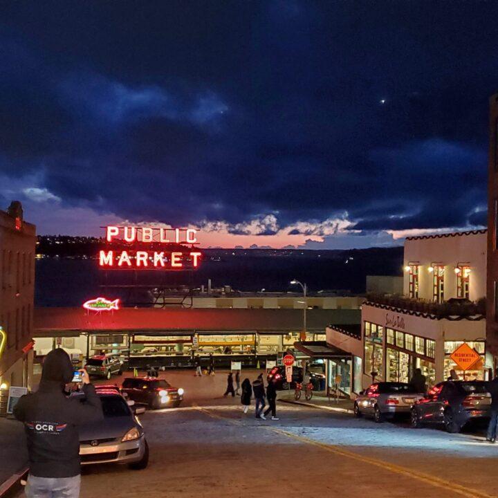 Seattle Public Market image via Patrick Thomas Cooper for use by 360 Magazine