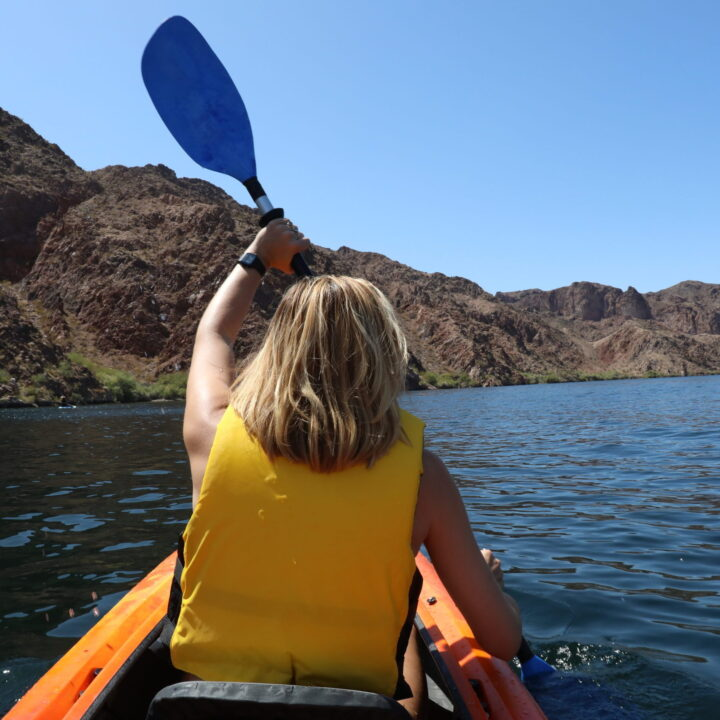 Lake Mead from Andrea Heerdt, The Vox Agency for use by 360 Magazine