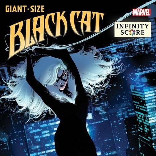 Black Cat: Infinity Score via C.F. Villa for Marvel for use by 360 Magazine