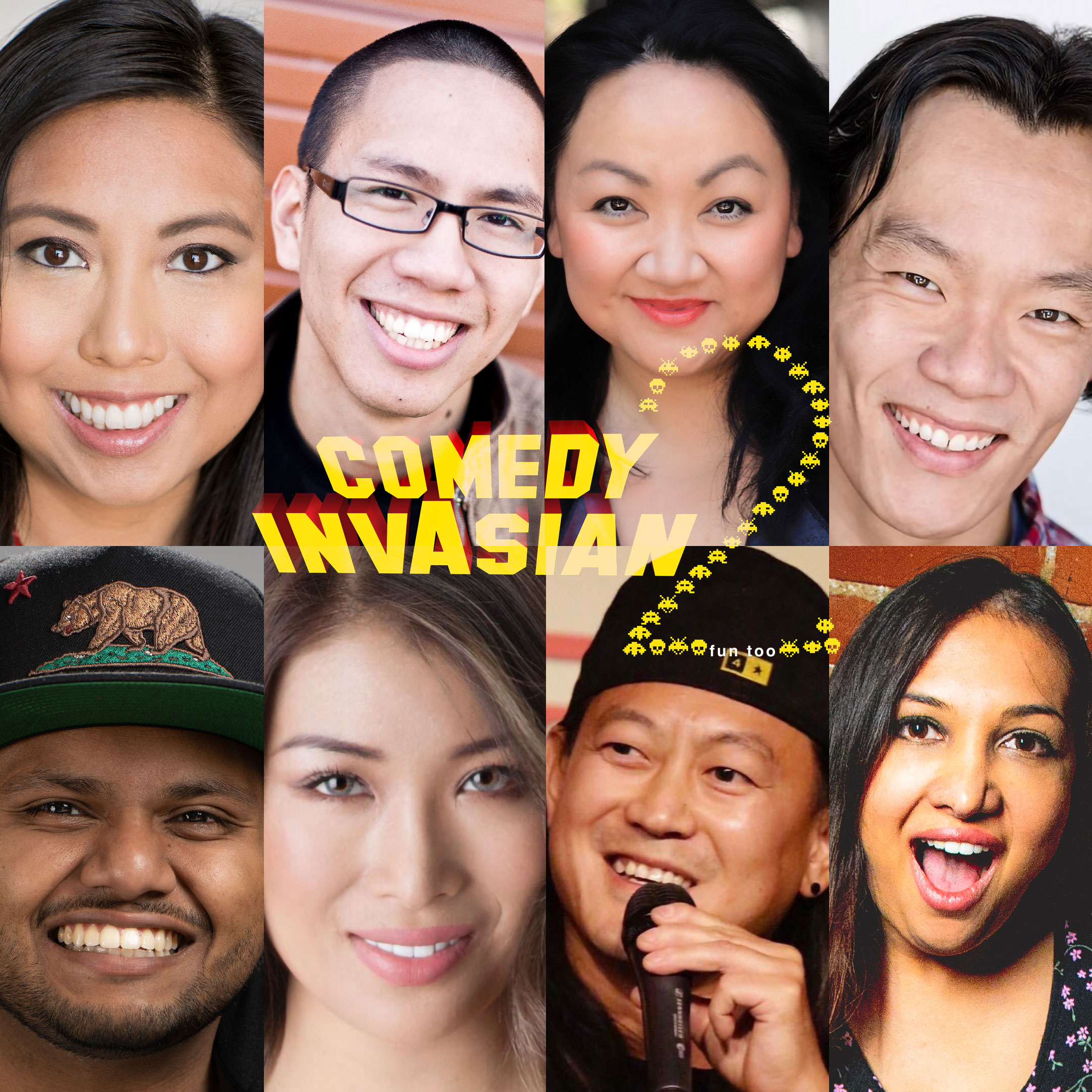 Comedy Invasians 2.0 via Matt Rivera for use by 360 Magazine