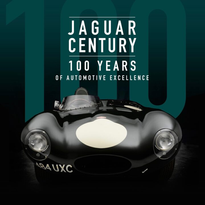 Jaguar Century: 100 Years of Automotive Excellence by Giles Chapman ∙ Publishing September 28, 2021 ∙ Motorbooks via Steve Roth at The Quarto Group for use by 360 Magazine