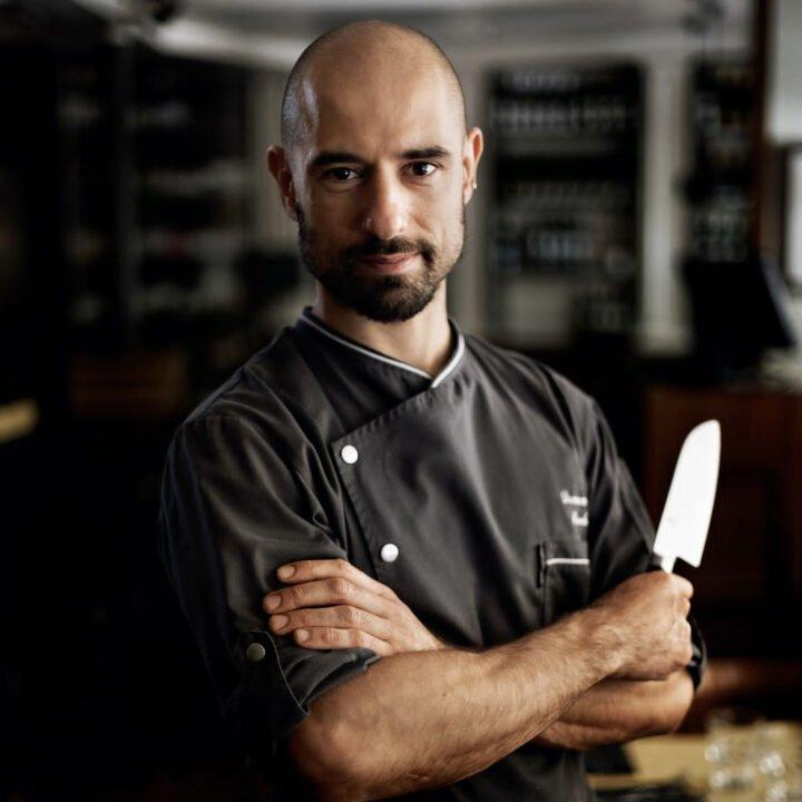 Chef Domenico Boschi image from Biancalucia Perna at Hotel Maalot for use by 360 Magazine