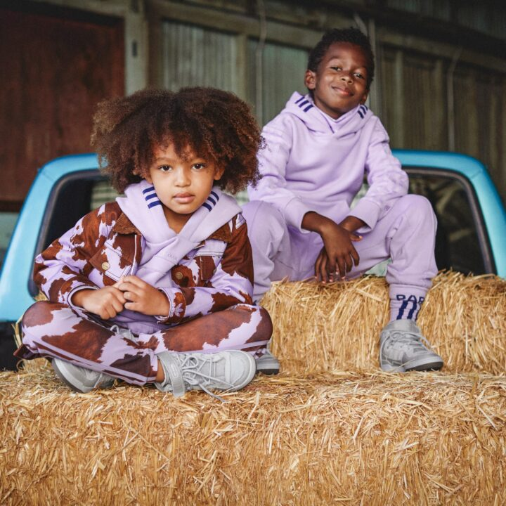 Beyonce adidas x IVY PARK RODEO KIDS collection image via Kathryn Stelmack at PaulWilmotCommunications via Byl Thompson at Parkwood Entertainment for use by 360 Magazine