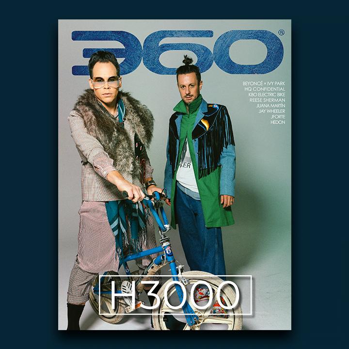 h3000's Jarrad Rogers and Luke Steele covers 360 MAGAZINE