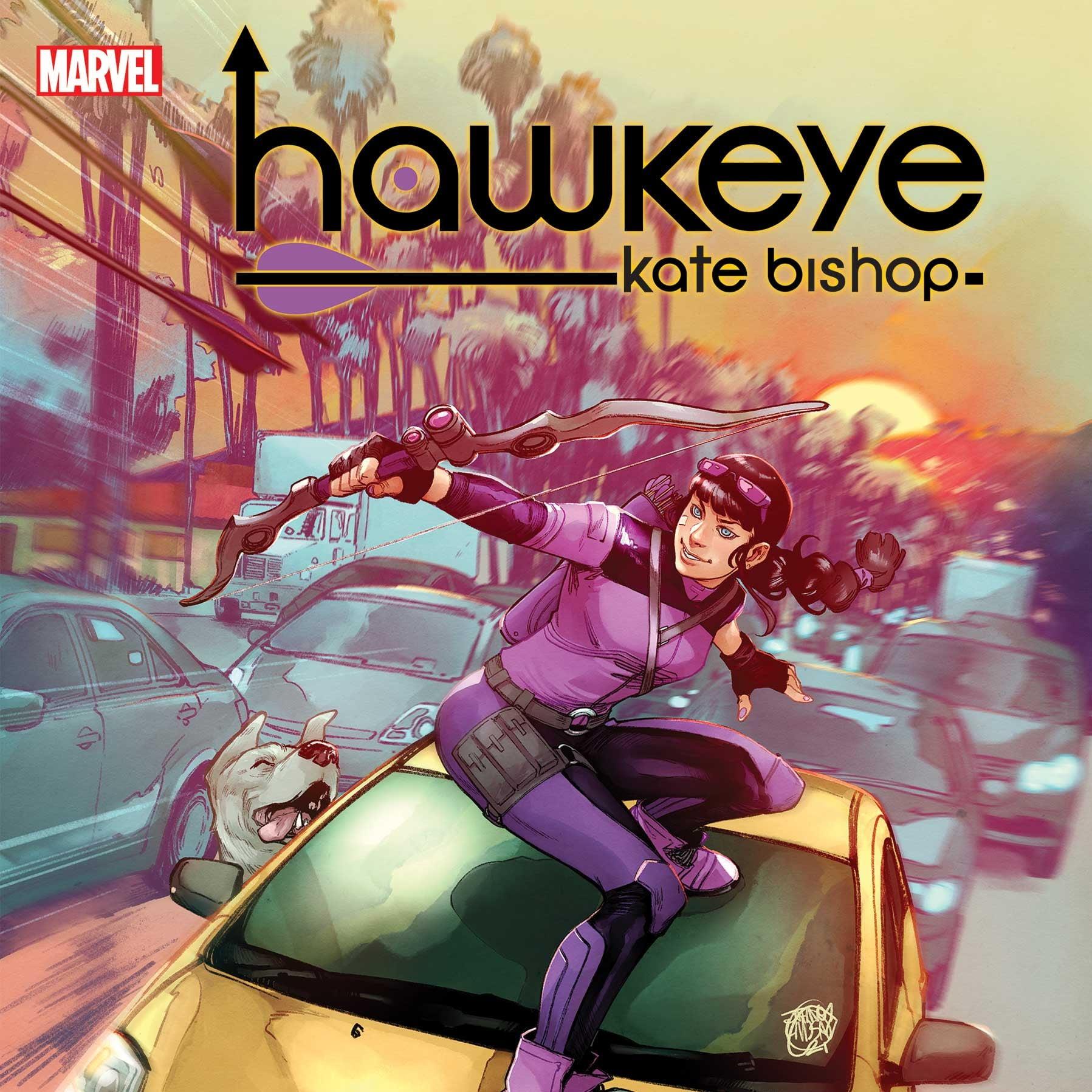 Hawkeye via Jahnoy Lindsay for Marvel Comics for use by 360 Magazine