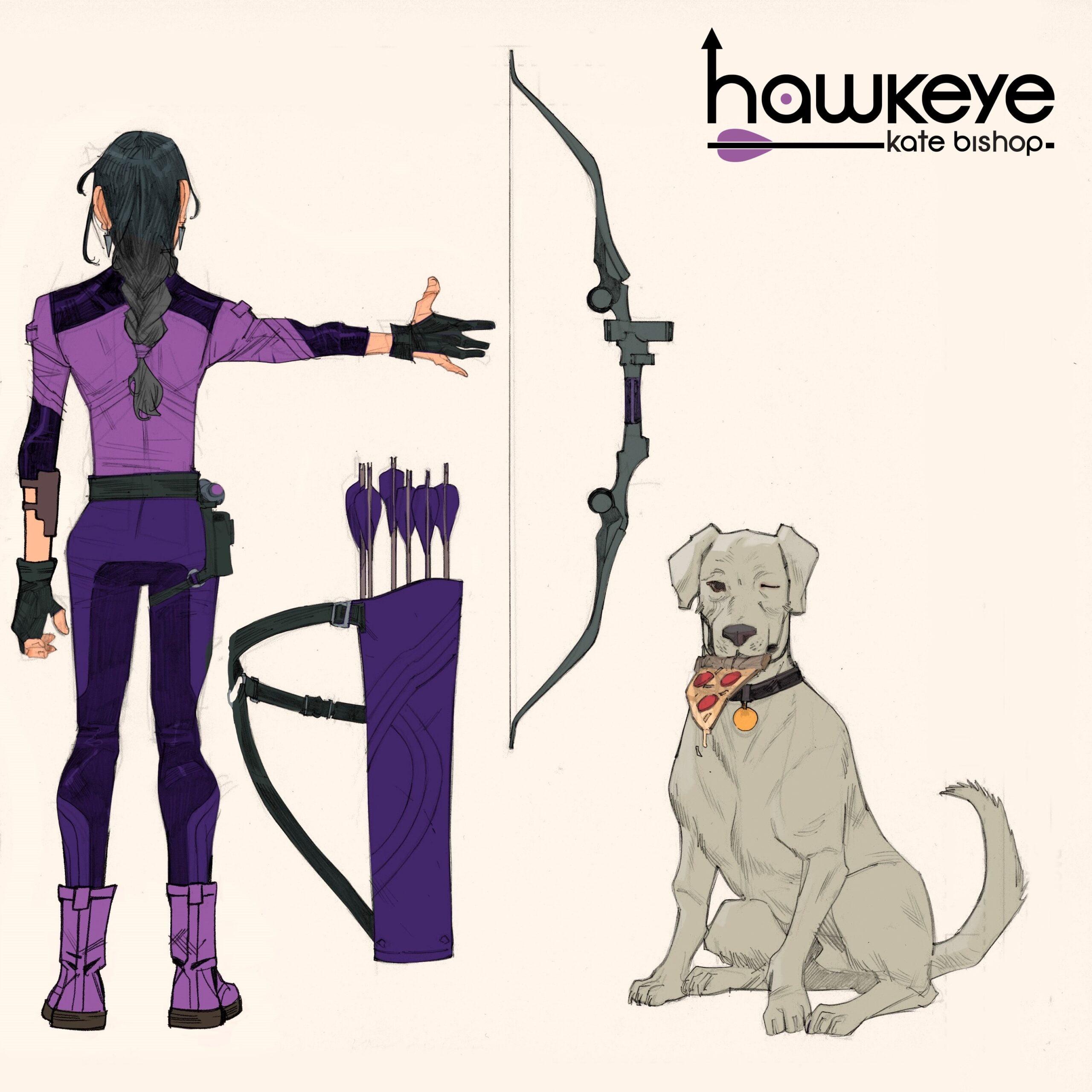 Hawkeye via Enid Balam for Marvel Comics for use by 360 Magazine