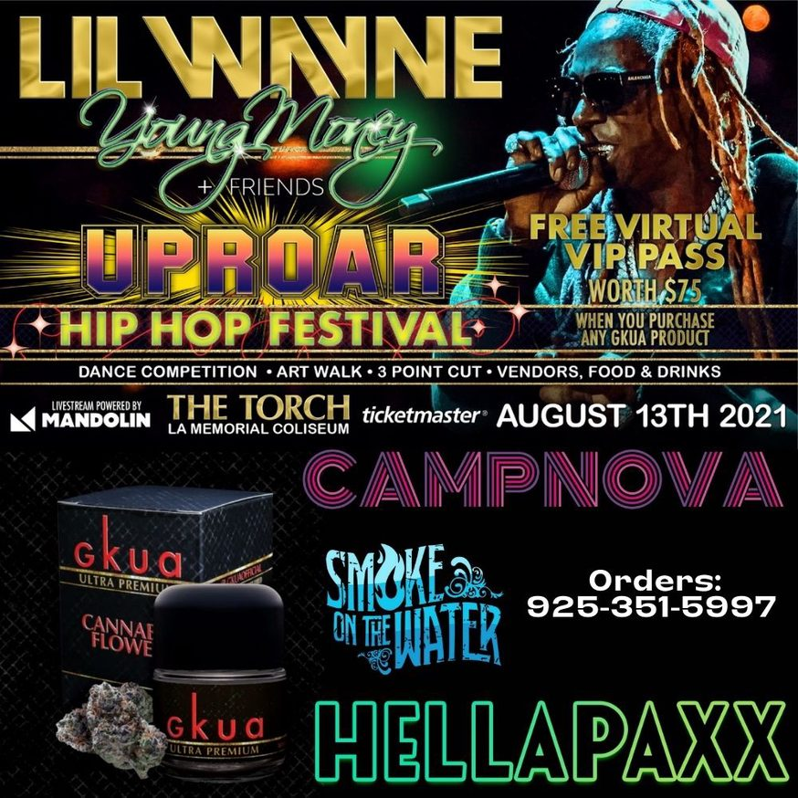 Lil Wayne Promotional Image via Camp Green USA for use by 360 Magazine