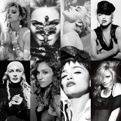 Madonna collage via PR NEWSWIRE via SOURCE Warner Music Group Corp. for use by 360 Magazine
