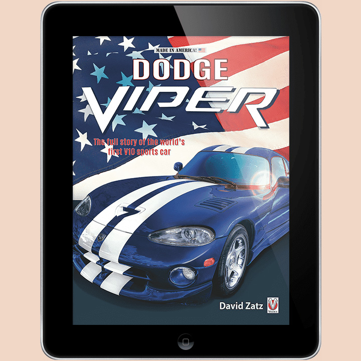 dodge viper cover for use by 360 magazine