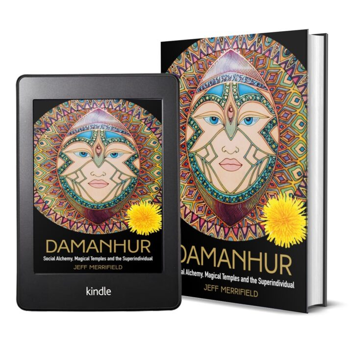 Jeff Merrifield's book, Damanhur (10th August; Watkins/Penguin Random House; £18.99/$29.95; 9781786783707) via Isabelle Panay at Watkins Media Limited for use by 360 Magazine