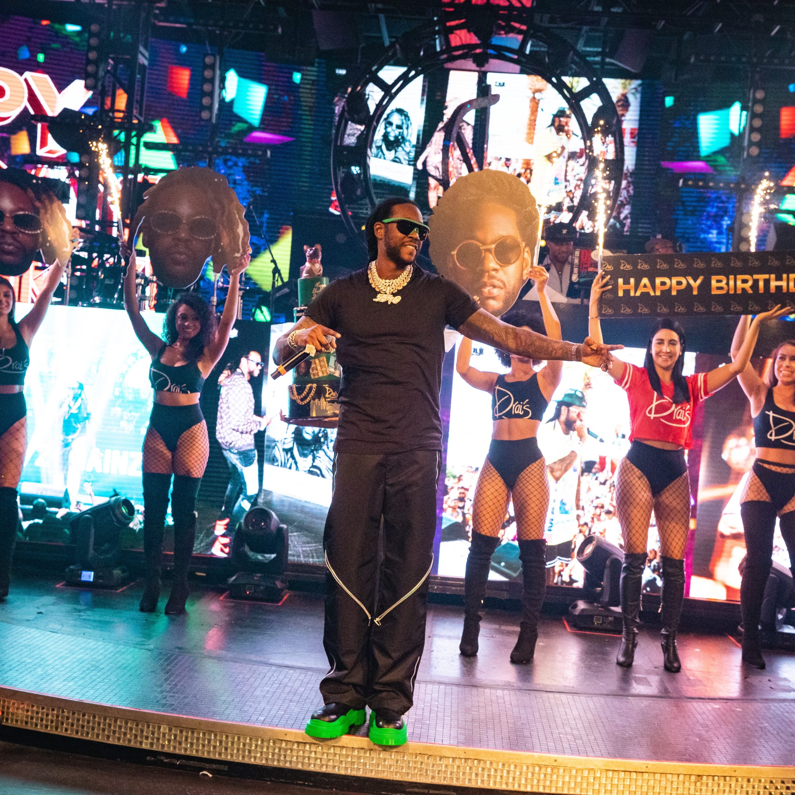 2 Chainz Birthday at Drais via Mike Kischbaum for Wicked Creative for use by 360 Magazine