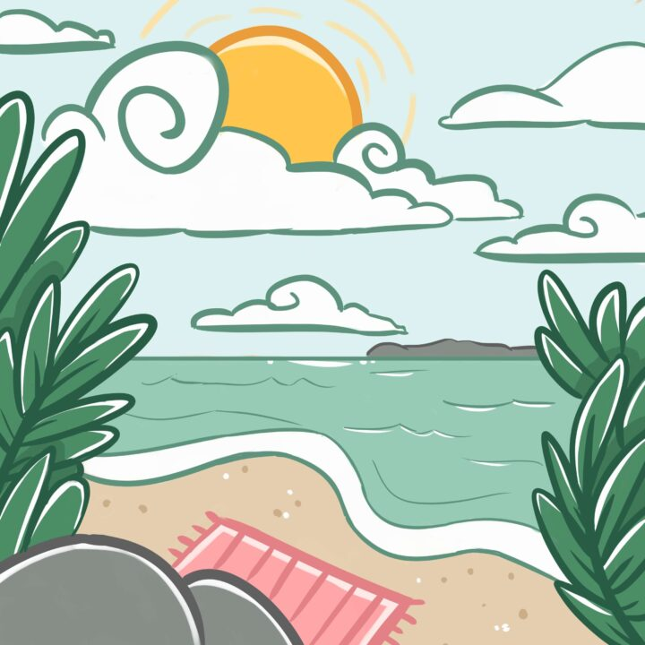 Costa Rica illustration created by Allison Chritstensen from 360 Magazine for use by 360 Magazine